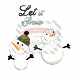 Fustella Sizzix Bigz Snowmen & Let it snow 2