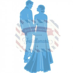 Fustella metallica Marianne Design Creatables Tiny's Wedding