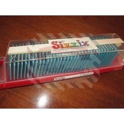 Fustella Sizzix Alfabeto Sizzlits Funky Brush