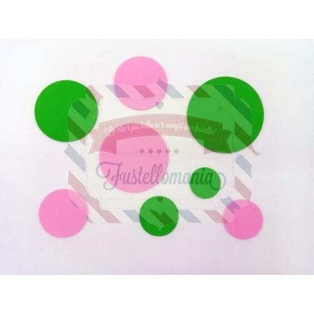 Fustella XL Set 7 Cerchi