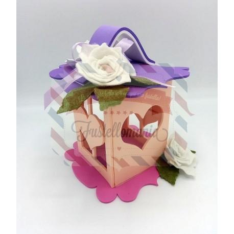 Fustella XL Lanterna e Cornice con cuore