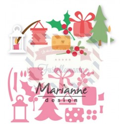 Fustella metallica Marianne Design Collectables Eline's Christmas decoration