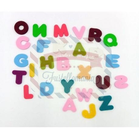 Fustella XL Alfabeto maiuscolo 2,5 cm