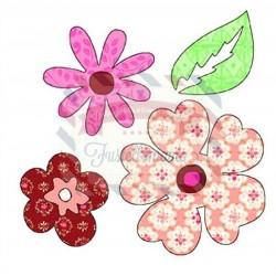 Fustella Sizzix Bigz Flowers & Leaf