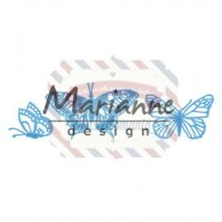 Fustella metallica Marianne Design Creatables Tiny's butterflies set