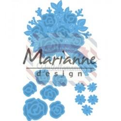 Fustella metallica Marianne Design Creatables Bouquet