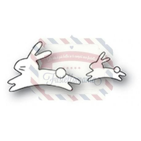 Fustella metallica Memory Box Quick Bunnies