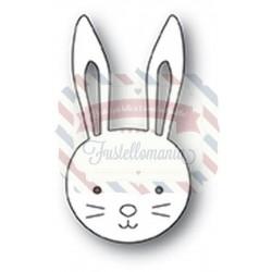 Fustella metallica Memory Box Bunny Face