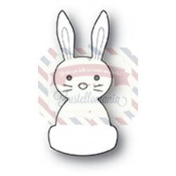Fustella metallica Memory Box Sweet Bunny