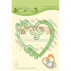 Fustella metallica Leane Creatief Heart