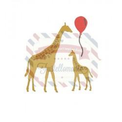 Fustella Sizzix Thinlits Giraffes