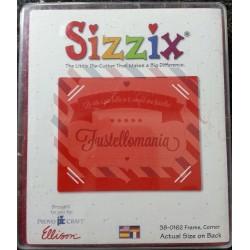 Fustella Sizzix Bigz Cornice con angoli