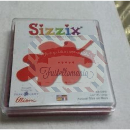 Fustella Sizzix Bigz Foglia 1 larga