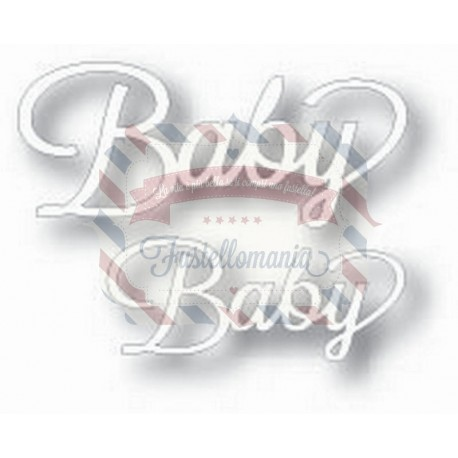 Fustella metallica Tutti Designs Word Set Baby