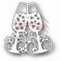Fustella metallica Tutti Designs Champagne Flutes