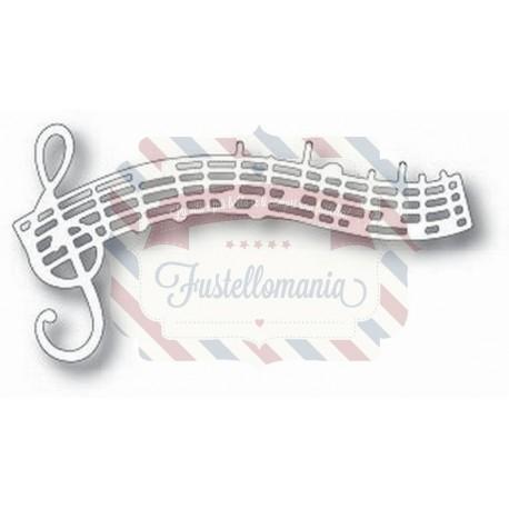 Fustella metallica Tutti Designs Musical Stave