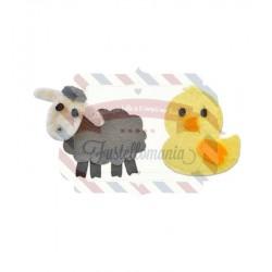 Fustella Sizzix Bigz Sweet Spring Animals