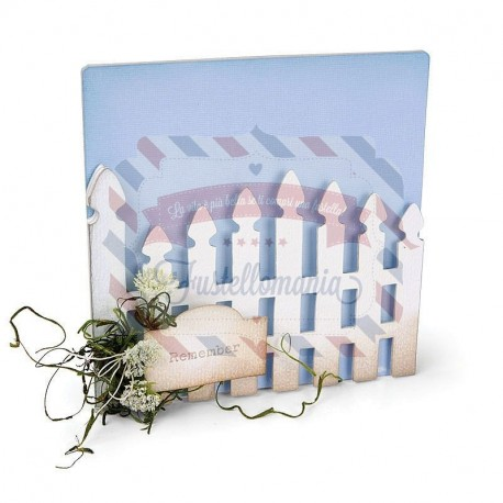 Fustella Sizzix BIGz XL Album Garden Gate
