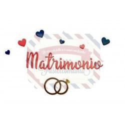 Fustella Sizzix Thinlits Matrimonio