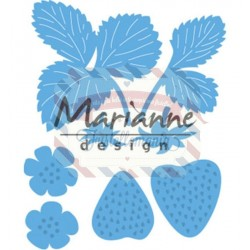 Fustella metallica Marianne Design Creatables Strawberries