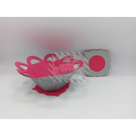 Fustella XL Cestino porta caramelle e cornice