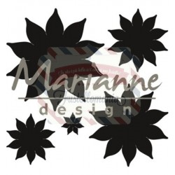 Fustella metallica Marianne Design Craftables Succulent Pointed