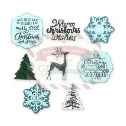 Fustella Sizzix Framelits Christmas is here by Katelyn Lizardi
