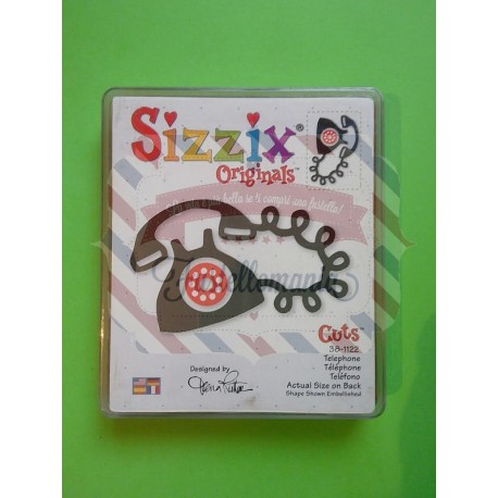 Fustella Sizzix Bigz Telefono