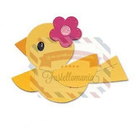 Fustella Sizzix Bigz Hello Kitty Birdie