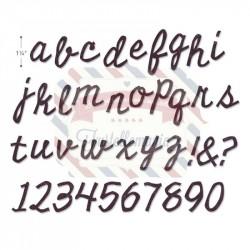 Fustella Sizzix BIGz XL Cutout Script