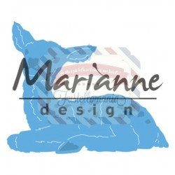Fustella metallica Marianne Design Creatables Tiny's baby deer