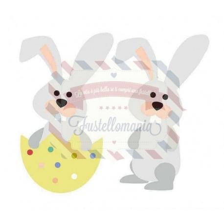 Fustella Sizzix Bigz Coniglietto