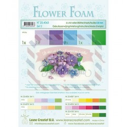 Fommy Leane Creatief 0,8 mm in fogli A4 6 pezzi colori sfumati Viola
