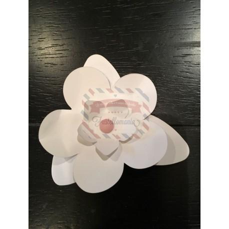 Fustella Sizzix Bigz Stampin Up Composizione fiori