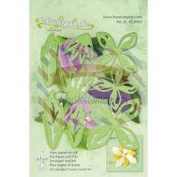 Fustella metallica Leane Creatief Multi Flower 001