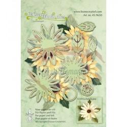 Fustella metallica Leane Creatief Multi Flower 006