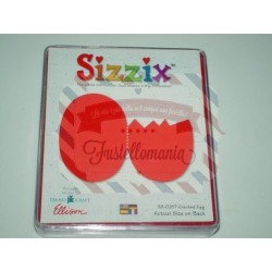 Fustella Sizzix Originals Uovo rotto