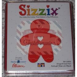 Fustella Sizzix Bigz Omino Pan di zenzero Gingerbread