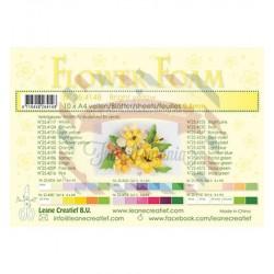 Fommy Leane Creatief per fiori 0,8 mm in fogli A4 10 pezzi colore Giallo brillante