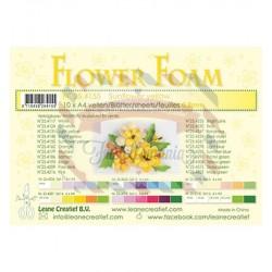 Fommy Leane Creatief per fiori 0,8 mm in fogli A4 10 pezzi colore Giallo girasole