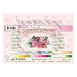 Fommy Leane Creatief per fiori 0,8 mm in fogli A4 10 pezzi colore Pale Pink