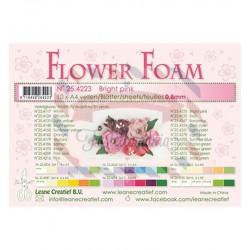 Fommy Leane Creatief per fiori 0,8 mm in fogli A4 10 pezzi colore Rosa brillante