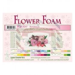 Fommy Leane Creatief per fiori 0,8 mm in fogli A4 10 pezzi colore Bordeaux