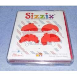 Fustella Sizzix Originals Capelli bimbo 1