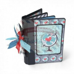 Fustella Sizzix BIGz XL Book Passport