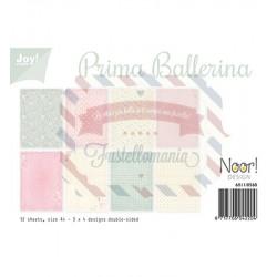 Carta da scrapbooking Joycrafts Paper Set A4 Prima Ballerina