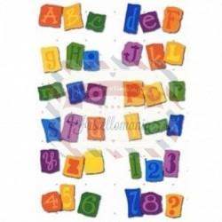 Fustella Sizzix Ransom Alfabeto e Numeri