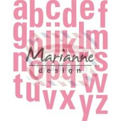 Fustella metallica Marianne Design Collectables Alphabet XXL