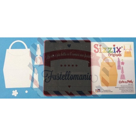 Fustella Sizzix Bigz Pochette rossetto e accessori