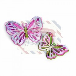 Fustella Sizzix Thinlits Delicate Butterfly by David Tutera